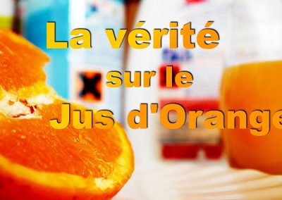Jus d'orange : un danger au quotidien ?